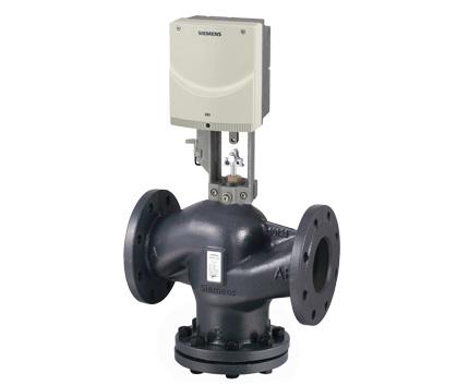 电动液压调节阀:以液压形式为驱动里的电动调节阀,执行器接收控制图片